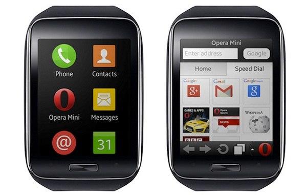 Opera Mini: первый браузер для смарт-часов Samsung Gear S