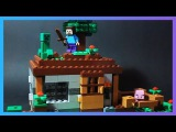 LEGO Minecraft 21115 The First Night Первая ночь Обзор