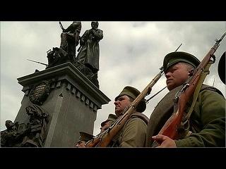 В Калининграде установили бронзовый монумент в память о героях Первой мировой войны - Первый канал