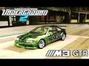 Легендарная BMW M3 GTR E46 в Need For Speed Underground 2 Тест-Драйв