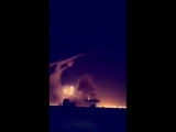 SURA в Твиттере- #BREAKING - First footage of #Saudi Arabian patriot missile failure and hitting capital city of Riyadh after f