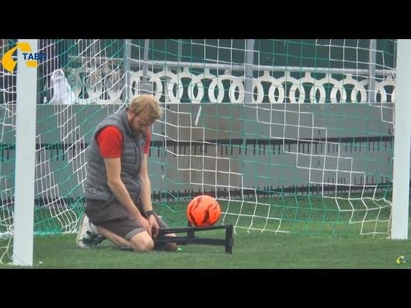 На стадіоні Ворскла встановили систему фіксації голу