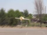 Кордовый электролёт (первый,жёлтый, стремный)