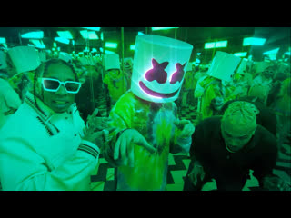 Премьера. marshmello feat. tyga & chris brown - light it up