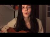 С.Есенин - Заметался пожар голубой. Девушка очень красиво поет и играет. лучший