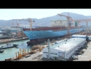 Maersk Line - Building the Triple-E Timelapse