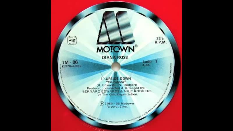 Diana Ross - Upside down (12 Inch. Extended The Almighty anthem mix Version And Edit.) By MOTOWN Records Inc. LTD. Video Edit.