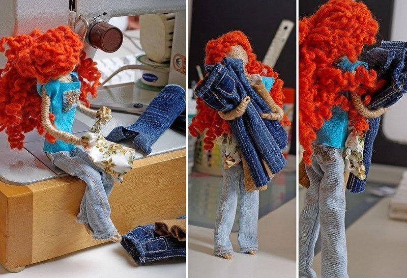Кукла из проволоки своими руками