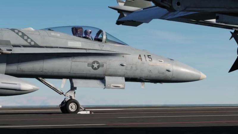 DCS F/A-18C Hornet - Trailer