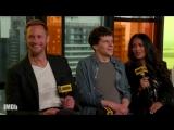 Alexander Skarsgård, Salma Hayek Get Soaked in The Hummingbird Project from IMDb