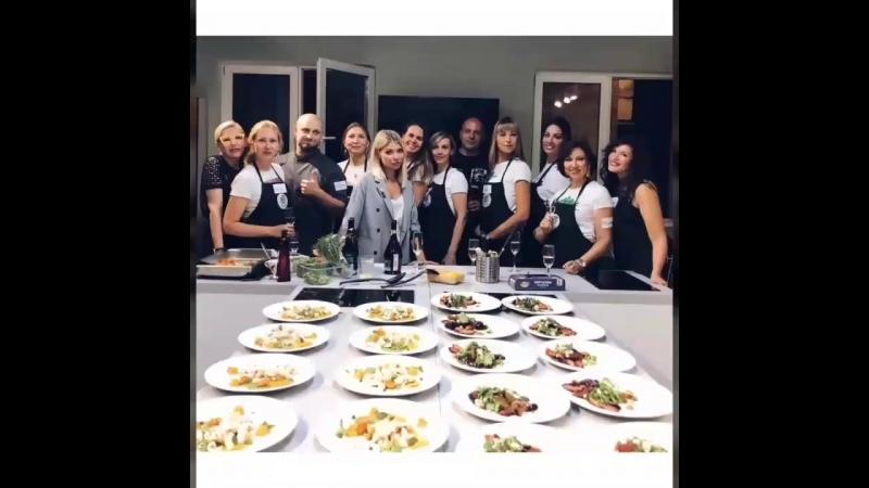 Европейская академия имиджа в кулинарной школе «Хлеб и еда»