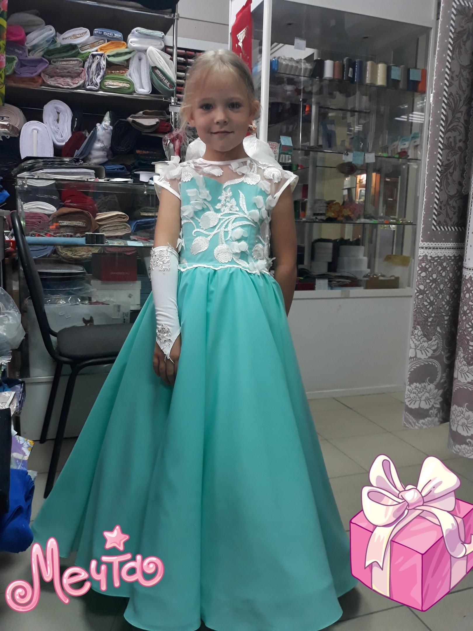 Еще одно платье в коллекцию нашего проката!