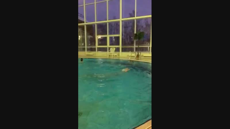 Аквапарк(синхронное плавание)❤️