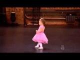 Двухлетняя балерина