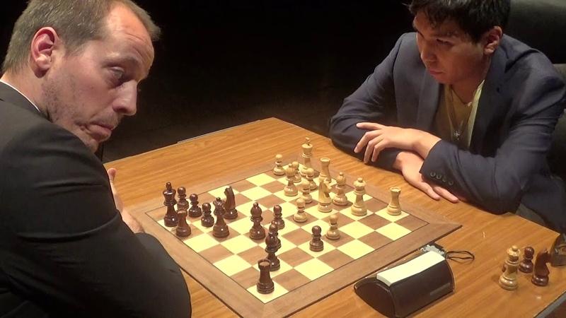 GM Wesley So - GM Francisco Vallejo Pons, Rapid chess, Semi-Slav defense