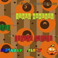 ORANGE birthday party@