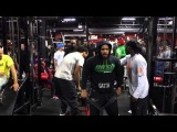Blaq Ninja's Last Man Standing 3 :Weighted Pull -Ups Part 1