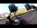 Погоня ДПС за racer Skyway по Лененскому.