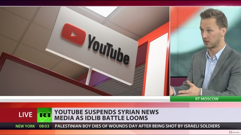 Syrian state YouTube channels 'terminated' amid fears of looming false flag chem attack