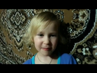 Племянница Ульяна Печёнкина 5,5 лет