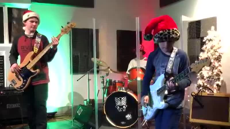 Christmas Surf Medley We Three Kings The Little Drummer Boy By Don't Tell Mom