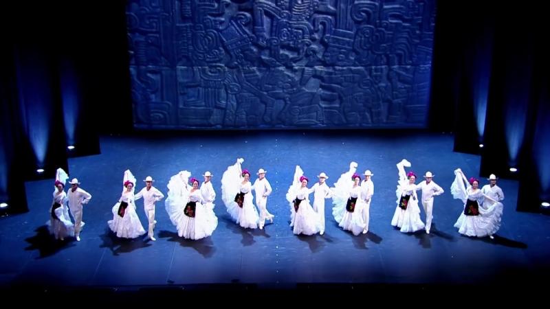 Ансамбль И.А. Моисеева - Мексиканские танцы Сапатео Авалюлько