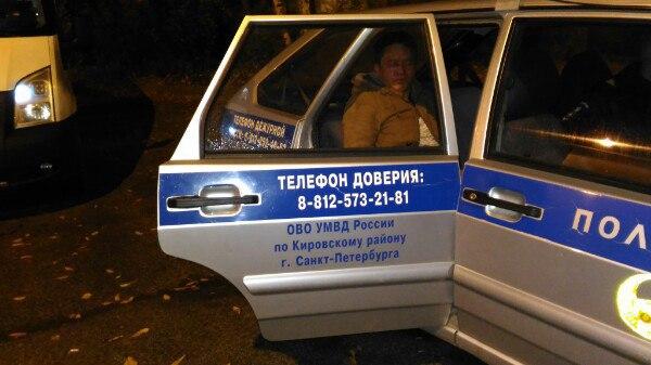 Напроспекте Народного Ополчения местный гражданин спас женщину отнасильника