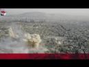 Война в Сирии. Бои в пригороде Дамаска