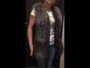 Видео 😍отзыв счастливой обладательницы меховой жилетки 🤩 Спасибо за доверие💐 будем с вами рады по работать ещё 💋