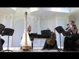 К. Дебюсси Два танца для арфы и струнного квинтета, исп.Оксана Сидягина (арфа)
