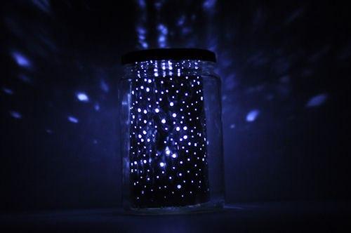 Светильник звездное небо своими руками фото