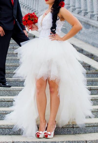 выбора свадебные короткие платья со шлейфом фланель фланелевые