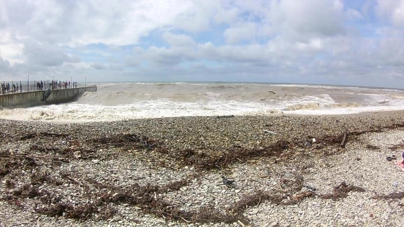 Дивноморск Море после Шторма