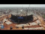 Китай строит самый большой стадион Африки в Сенегале!