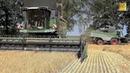 Mähdrescher Fendt 8410P Agravis Technik Vorführung Getreideernte 2018 new combine harvester wheat