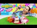Смешарики Live: Каникулы! День Рождения НЮШИ!