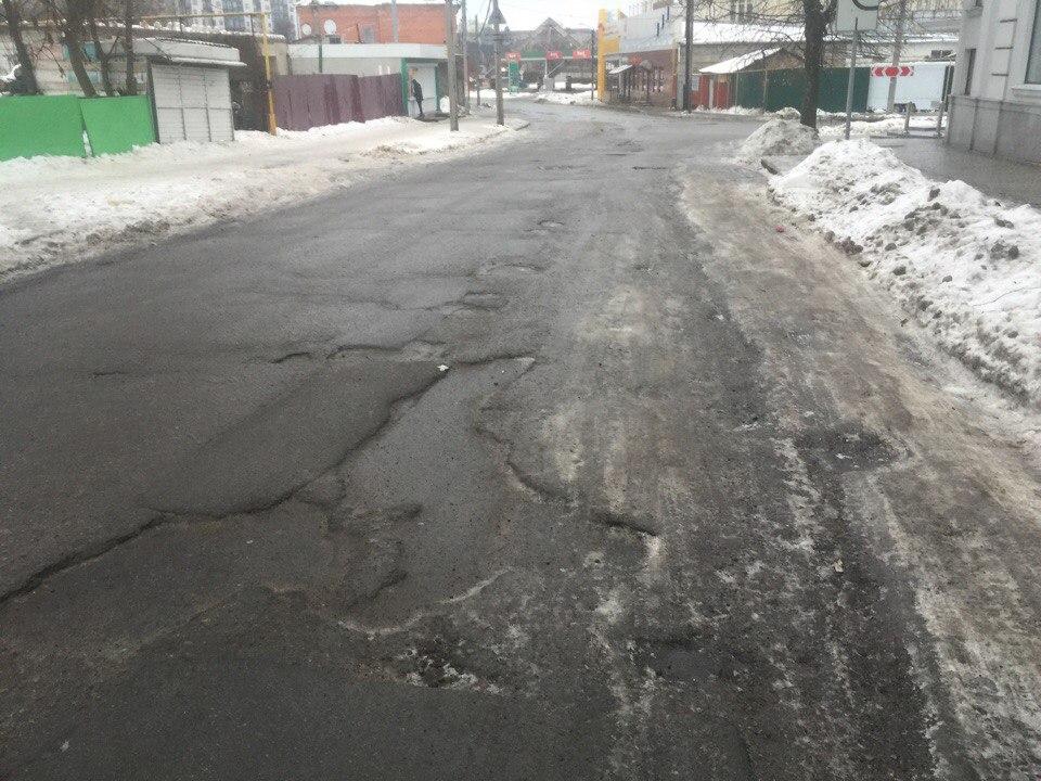 Жители Харькова рассказали о плюсах разбитых дорог (ФОТО)