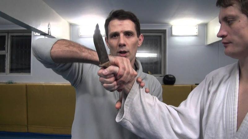 Видеокурс. Обезоруживание при угрозе ножом.
