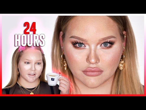 I WORE MAKEUP FOR 24 HOURS ...this is what happened!