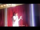 [FANCAM] 180520 EXO-CBX Ending Ment Chen Focus @ Magical Circus in Nagoya D-2
