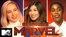 Captain Marvel Cast Play Would You Rather 90s Edition MTV Movies