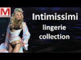Intimissimi sexy lingerie collection - runway New York USA 2017