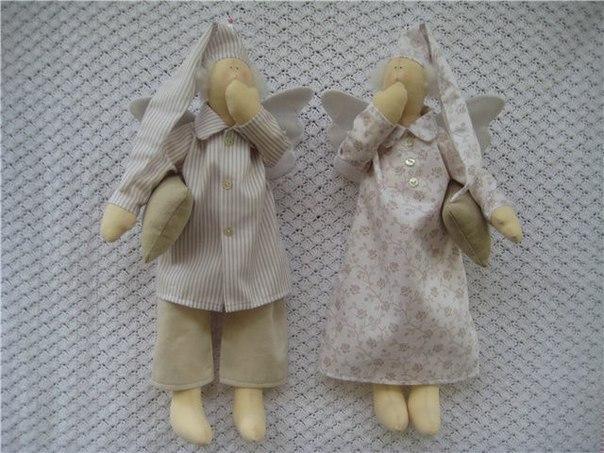 Спящий ангелочек своими руками