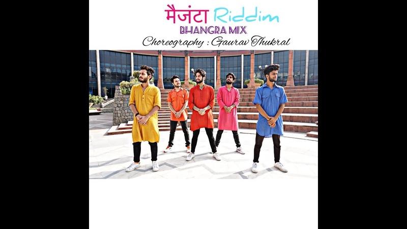 DJ Snake Magenta Riddim DJ Aamir Dhol Mix M2Ray Urban Bhangra Choreography Gaurav Thukral