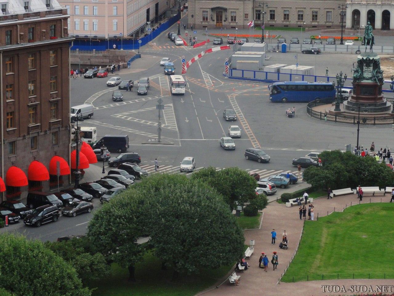 Исаакиевская площадь Питер