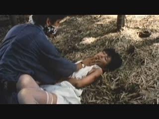 бдсм сцены(bdsm, порка, изнасилование,rape, сексуальное насилие) из фильма: Hakkin: Higa no onna - 1983 год