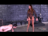 FemdomEmpire.com Anissa Kate (Nut Buster  01.01.2018) 2018 г., Femdom, Brunette, Big Tits, High Heels, Ballbusting, 1080p