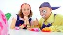 Video per bambini con Clown. Colazione perfetta. Episodi completi