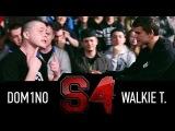 SLOVO Краснодар. 4 сезон, Main event Dom1no a.k.a. Many Meeno vs. Walkie T.