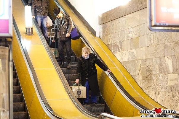 Багаж в метро